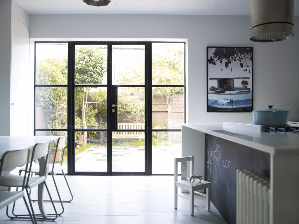 metal frame windows and doors