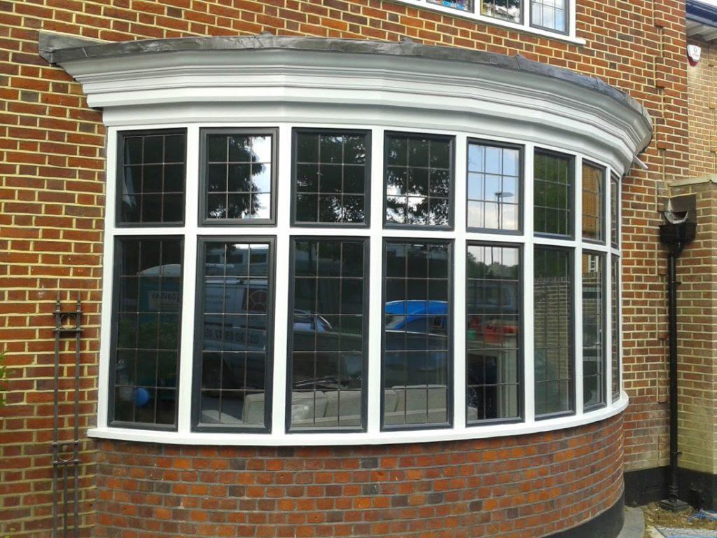 leaded metal windows
