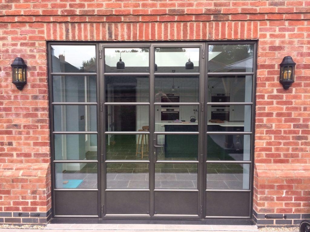 metal frame windows