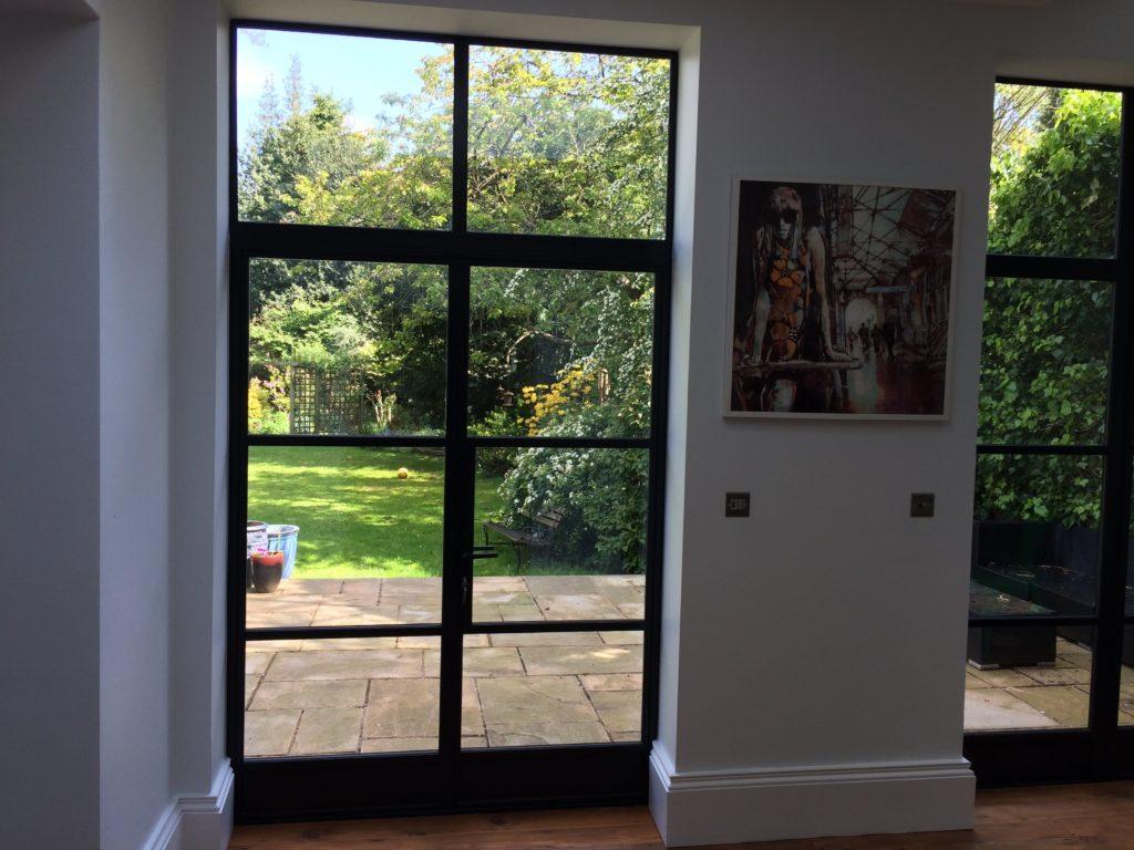 Black steel windows and doors uk