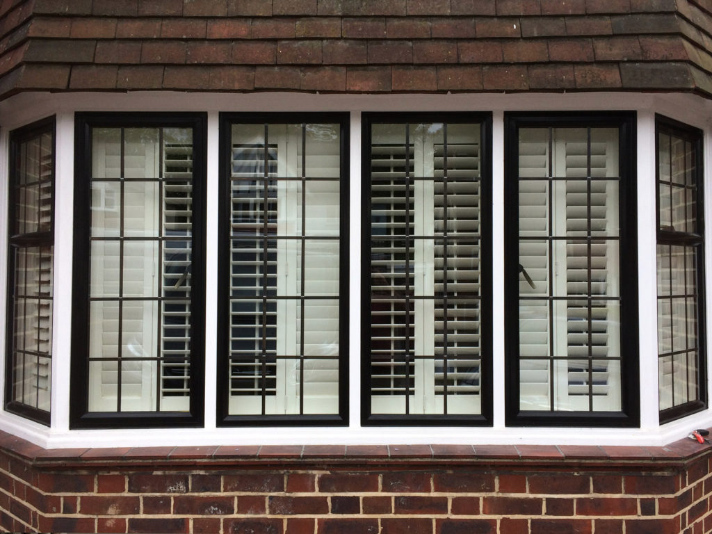 metal frame windows