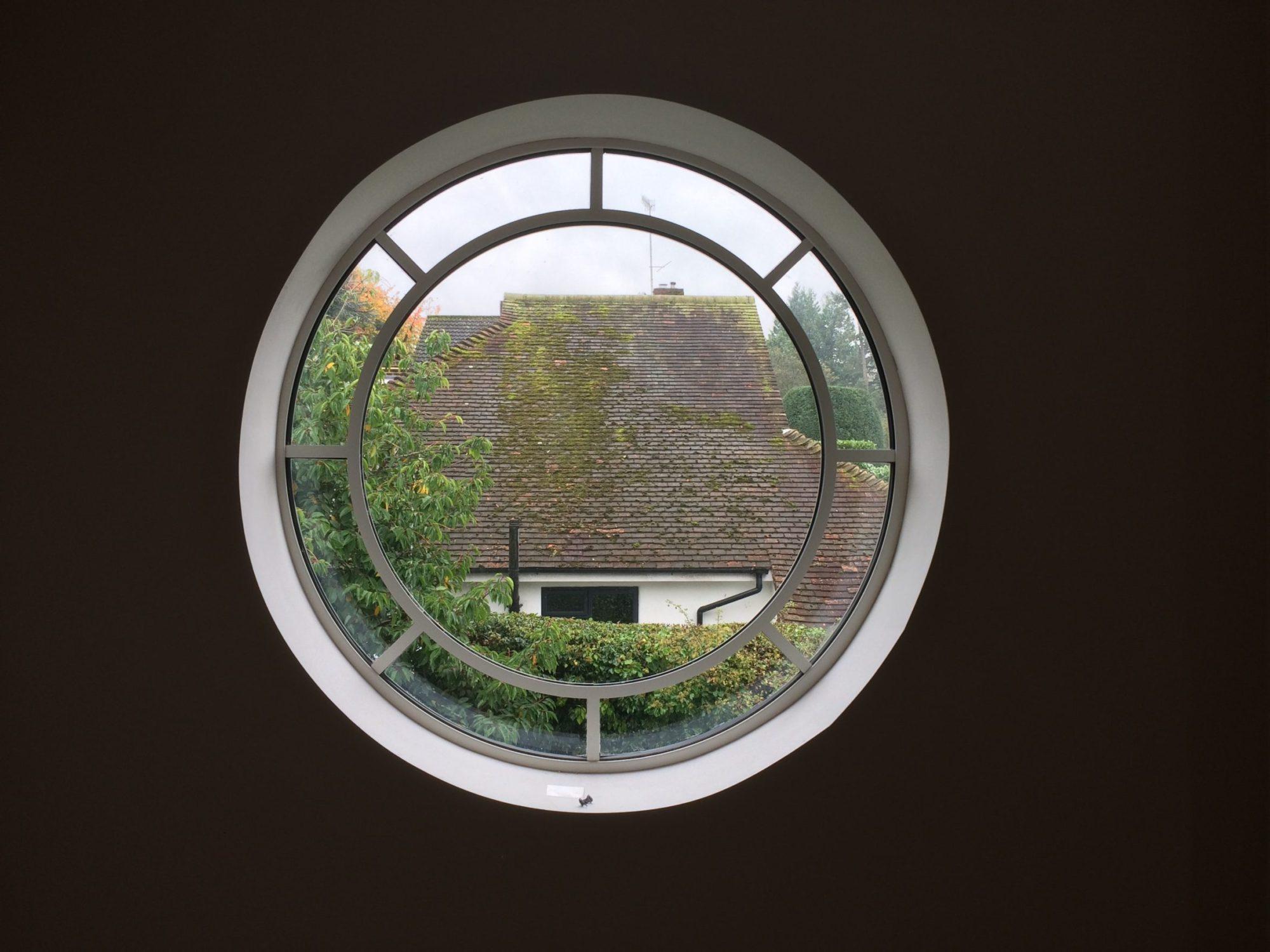 round metal windows